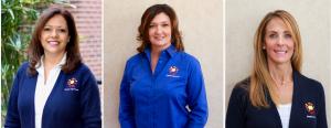 Spanish Schoolhouse founders Monica Ramirez, Victoria Williams, and Josie Gerber