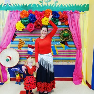 Spanish costumes, Spanish culture, Spanish preschool, Spanish Schoolhouse
