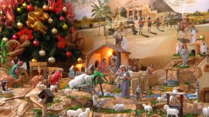 Latin traditions, manger, pesebre