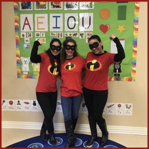 Teachers are superheroes, spanish schoolhouse sugar land
