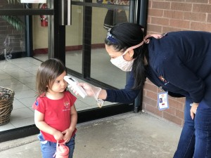 health and safety checks, preschool temperature screening