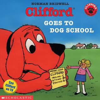 Clifford book, English class, Spanish Schoolhouse