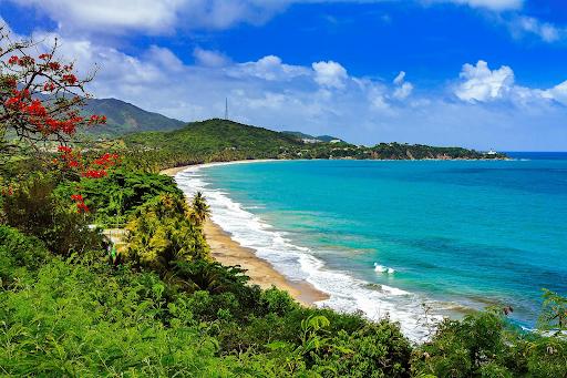 Beautiful beaches in Puerto Rico