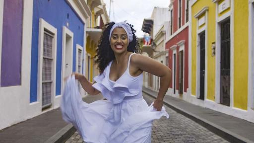 Dancing la bomba in Puerto Rico