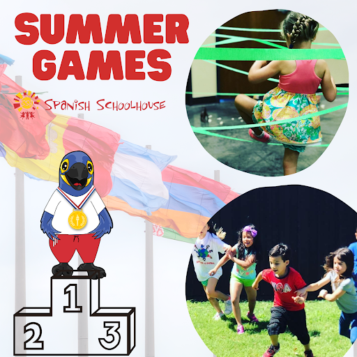 Spanish Schoolhouse summer camp olympic theme - Summer Games