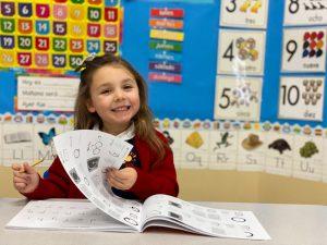 Spanish Schoolhouse student, new preschool families, FAQs for new preschool families