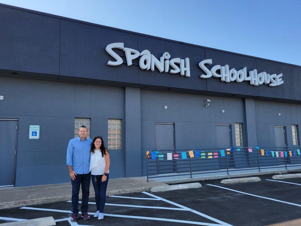 Spanish Schoolhouse Fort Worth owners Dusty Gotcher and Yolanda Armas